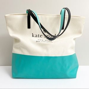 Kate Spade Canvas Bag